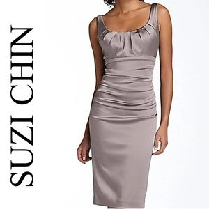 SUZI CHIN COCKTAIL DRESS
